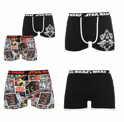 2 Pack Character Novelty Boxer Shorts Boxers Trunks Pants Starwars S M L Xl 2xl