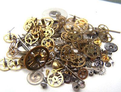 SALE! SALE!  Steampunk watch parts & pieces - GEARS, COGS, WHEELS, ETC. 15 GRAMS
