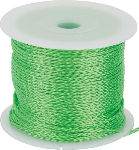 Haromac Maurerschnur grün 2mm x 100m fluoriszierend