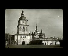 Caucase Ukraine c. 1900 - KIEV Couvent St Michel - Verre Positif - 113