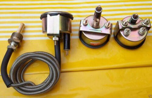 Tractor Oil Pressure Temp Gauge Set Replacement fits John Deere WH //BL Ammeter