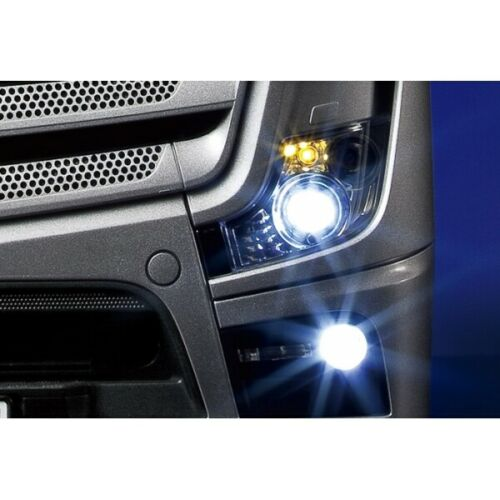 1//14 RC Tractor Truck led light control with backing beeper 18 led tamiya 1851