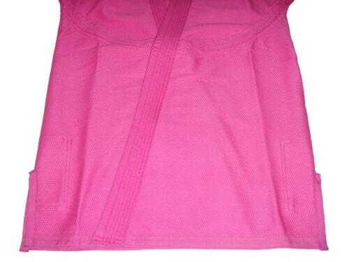 Pink Jiu Jitsu Gi for Girls//Womens Brazilian BJJ Style Pearl Weave PreShrunk