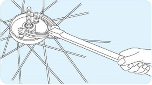 HOZAN C-349 BRAKE DRUM DRUM BRAKE TURNER Bicycle Tool from Japan 3b7bc7