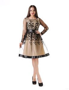 Hochwertige Kleider Abendkleid Ballkleid Coctailkleid Abikleid Spitzenkleid Koln Ebay