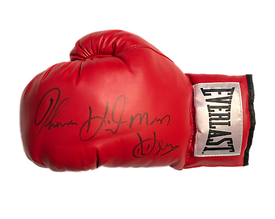 Wholesale Deal 5 X Thomas Hitman Hearns Signed Everlast Boxing Gloves Proof Ebay