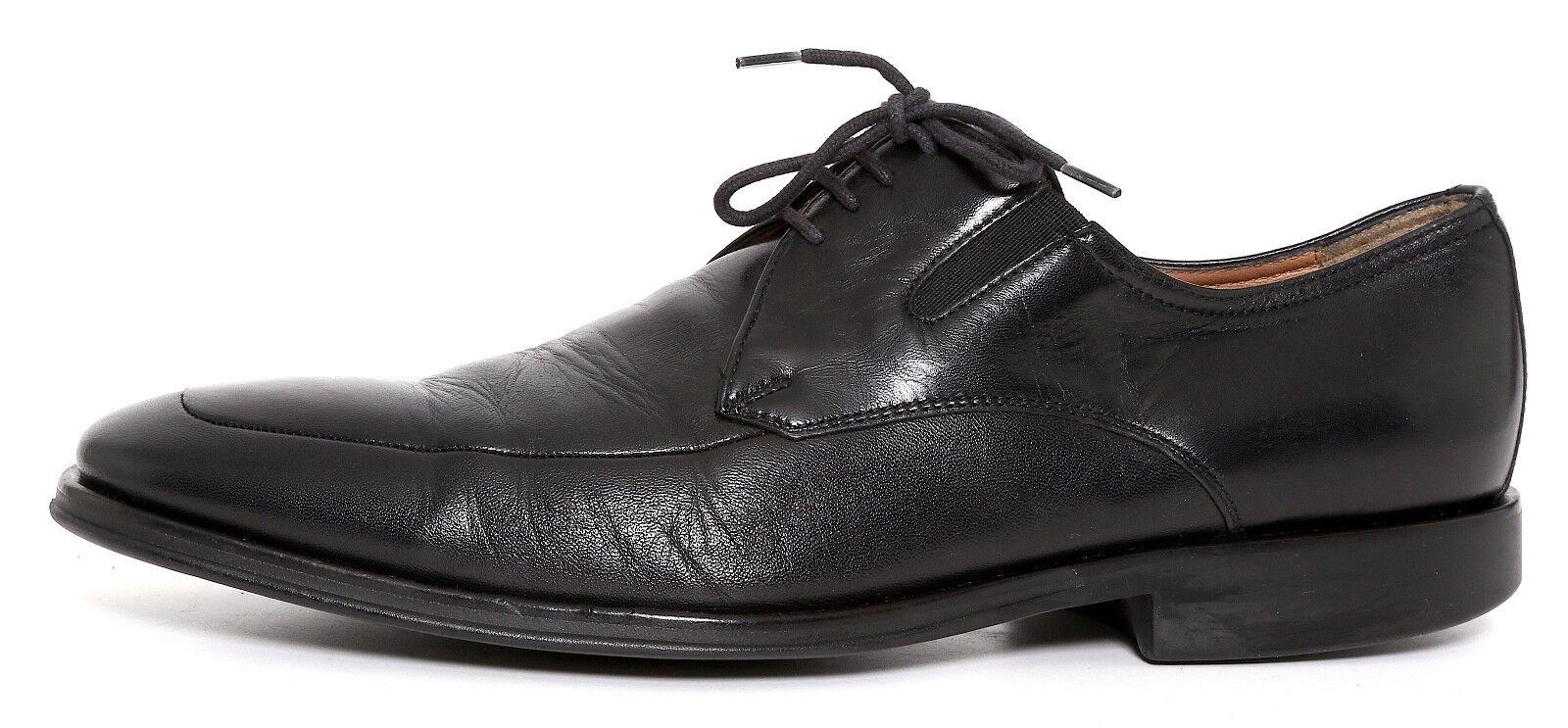più sconto Bruno Magli Magli Magli Ranuncolo Leather Oxfords nero Uomo Sz 9 M 4675  incentivi promozionali