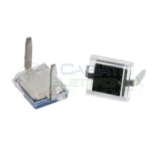 5 pezzi Fotodiodo BPW34 BPW 34 Photodiode rettandolare 2nA 950nm rettangolare