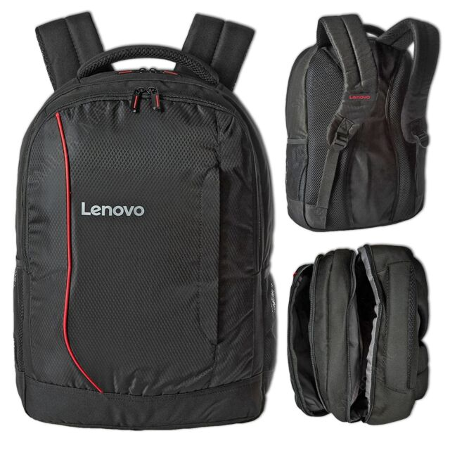 """Lenovo 17"""" Padded Laptop Backpack For Macbook Dell HP Toshiba Sony Acer Asus Air"""