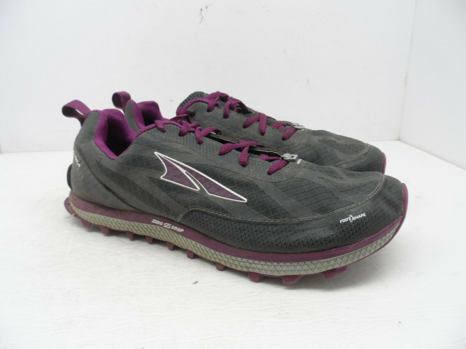 Altra Women's Superior 3.5 Trail Running shoes AFW1853F-2 Grey Purple Size 10.5M
