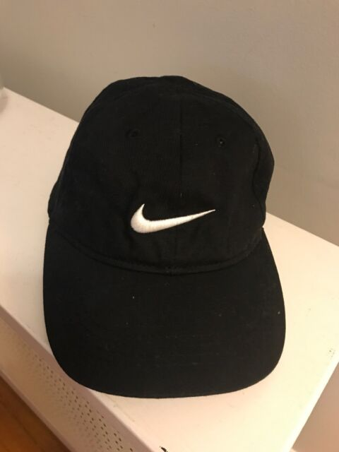 Boys Nike Brand 100/% Cotton Red with White Swoosh Adjustable Ball Cap Hat 4-7