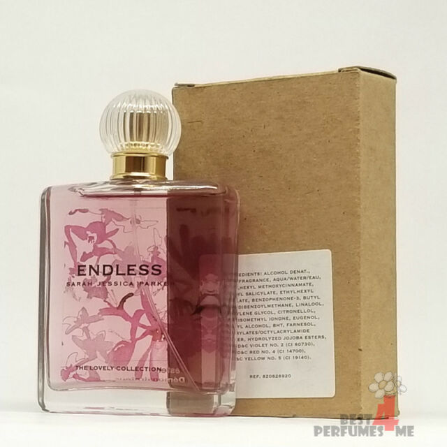 Endless by Sarah Jessica Parker 2.5 oz 75ml EDP The Lovely Collection (T ester)