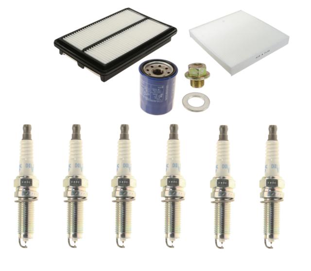 Tune Up Kit W/ DENSO Iridium Plugs For 2014-2015 Acura MDX