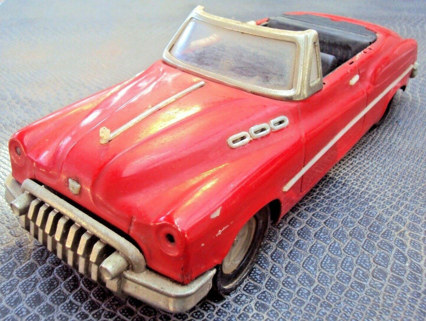 Ancien jouet vintage voiture rosso américaine à friction