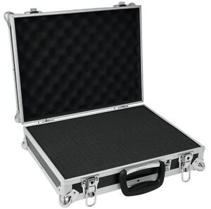 Audio For Video Ct-105 Dj Zubehör Transport Koffer 48 X 41 X 14 Cm Foam Universal Mikrofon Case