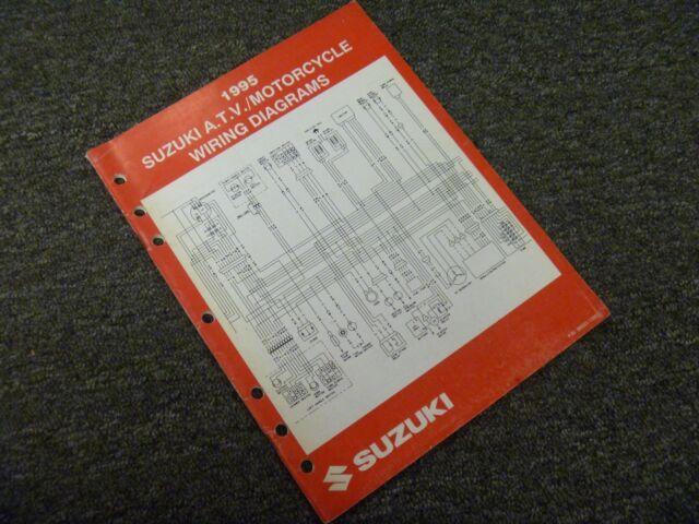 1995 Suzuki Dr350 Gsxr750 Gsxr1100 Motorcycle Electrical