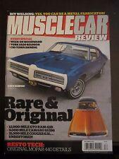Musclecar Review Magazine December 2012 GTO Ram Air Camaro SS396 Cougar 6.5L (ZZ