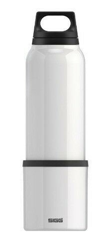 SIGG .75l (25 oz)Thermo Insulated Bottle with Removable Mug- WHITE 8448.20