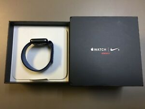 Details about Apple Watch Series 3 38mm Nike + Midnight Fog Loop  GPS+Cellular MQLA2LL/A NEW