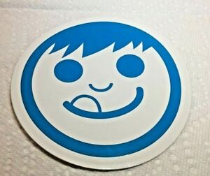 NEFF-SKATEBOARD-SNOWBOARD-Cool-Sticker-LARGE-4-034-White-amp-Blue