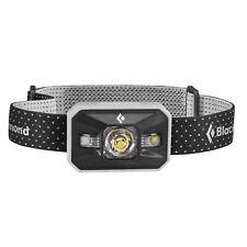 Black Diamond Waterproof Outdoor Battery-Powered LED Storm Headlamp, Aluminum