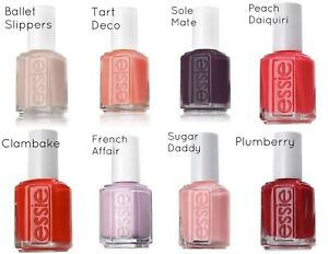 Details about Essie Nail Polish .46fl oz - Choose Any Favorite Color  (Summer 2019 Updated!)