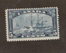 Canada  Scott 204 - Steamship Royal William 5  Cent. MNH. OG.   #02 CAN204