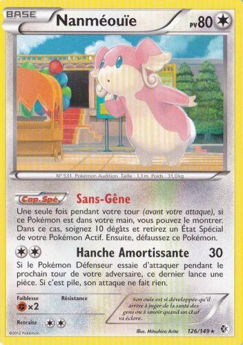 Nanméouïe - N&B:Frontieres Franchies - 126/149 - Carte Pokemon Neuve Française
