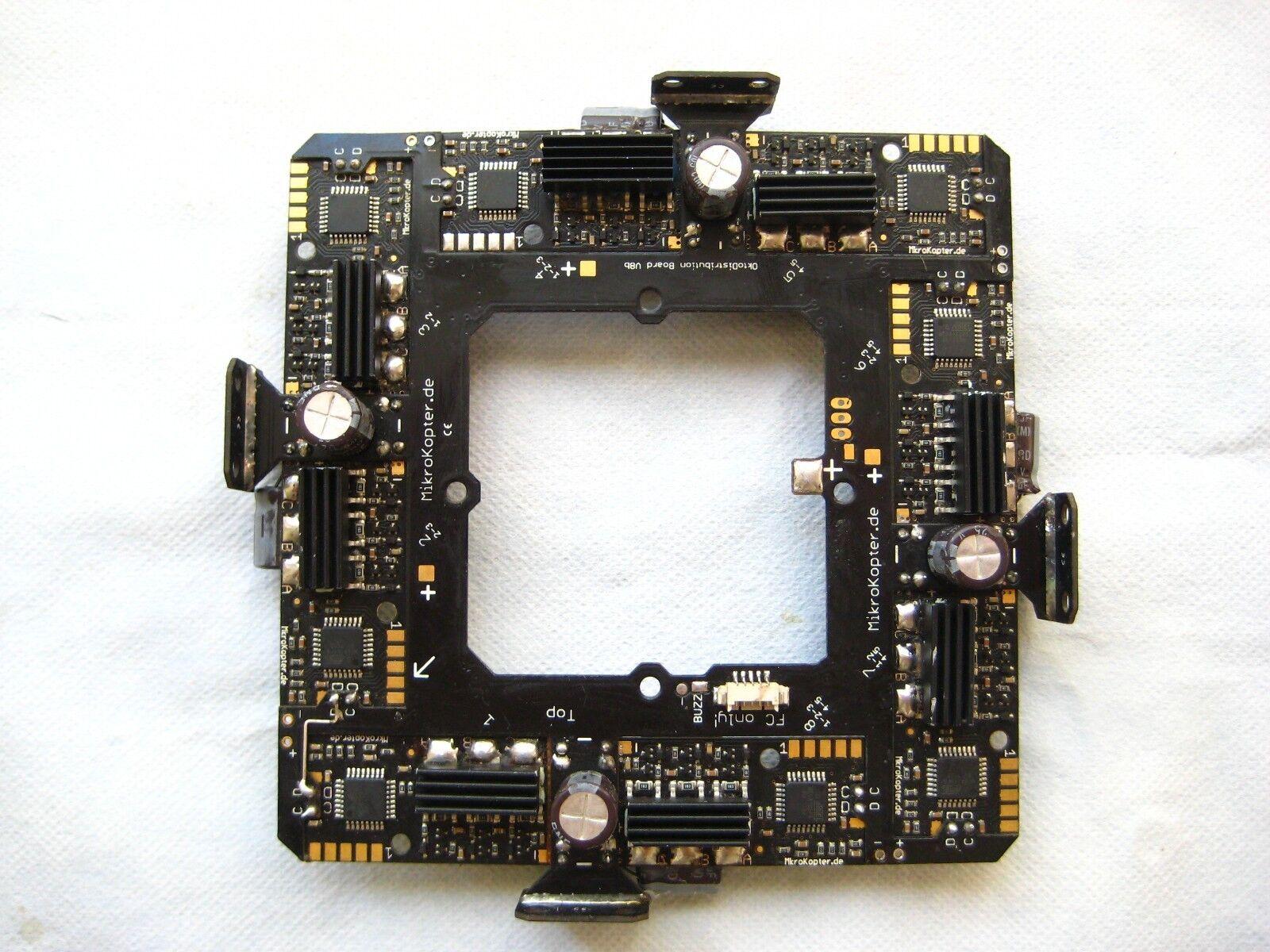 Mikrokopter Octo XL Tarjeta de distribución de alimentación, versión actualizada, probado 100%