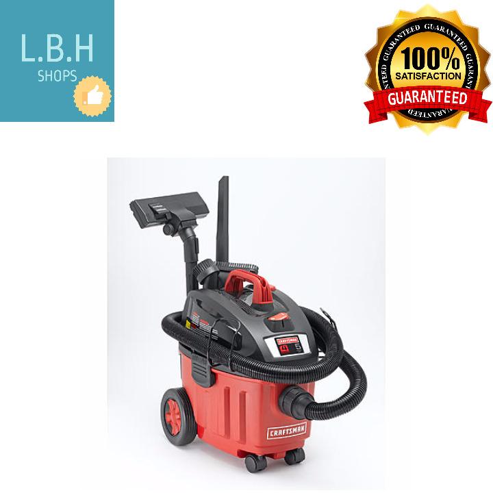 Craftsman Wet Dry Vacuum Household Cleaner 4-Gal 5 Peak HP Portable High Quality