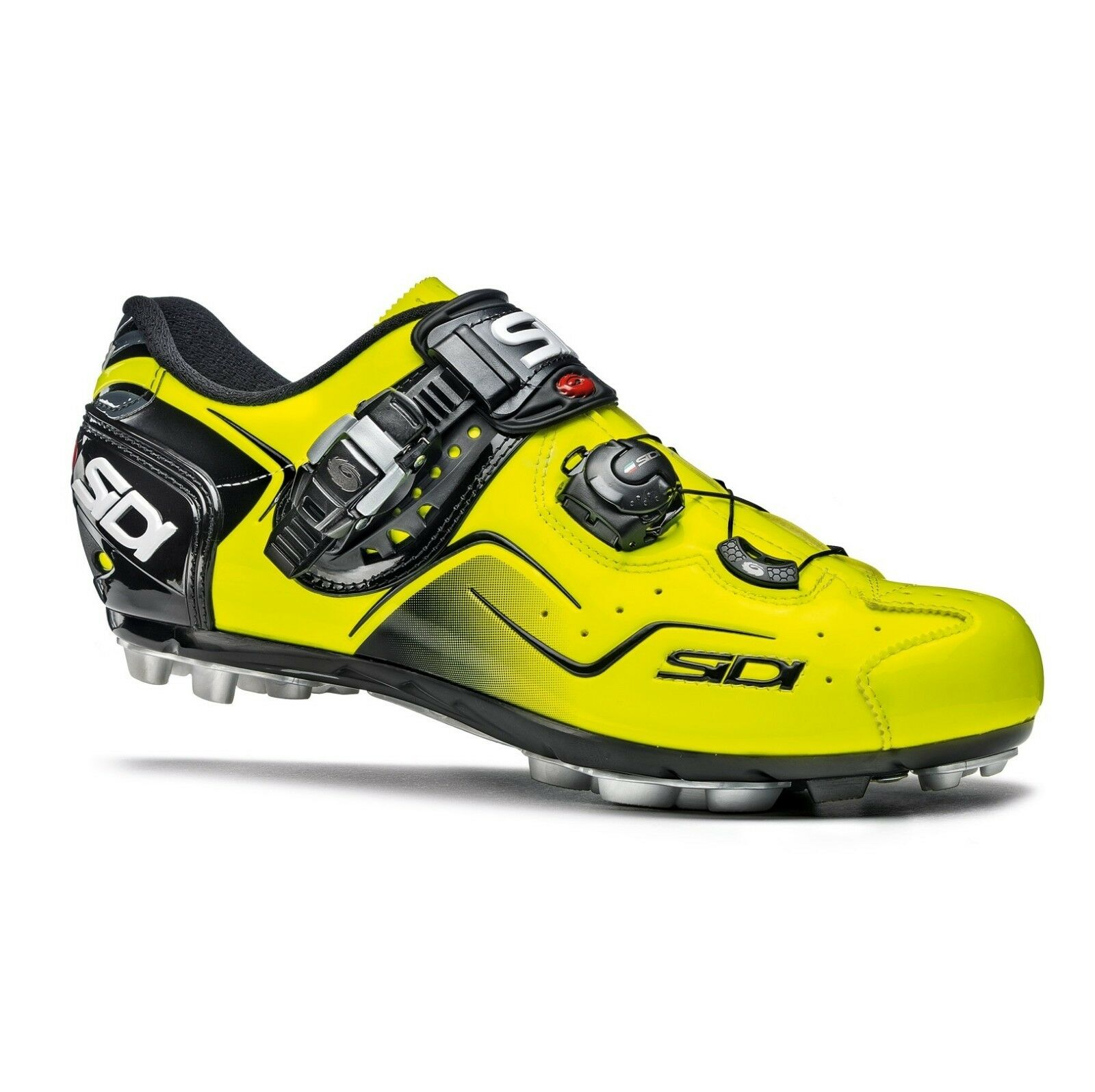 SIDI CAPE MTB Cycling scarpe Bike Cleat scarpe giallo Fluo Dimensione EUR 3846