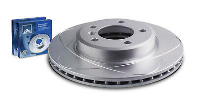 Ate CW24738 PremiumOne Slotted Disc Brake Rotor Single Rotor