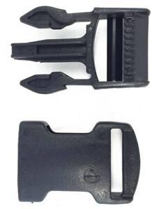 2-Hebillas-completas-liberacion-25-mm-negra-ITW-Nexus-SR25-buckle-release-black