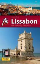 REISEFÜHRER LISSABON 2014/15 Michael Müller Verlag + STADTPLAN UNGELESEN wie neu