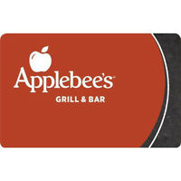 $50 Applebees Bar & Grill Gift Card