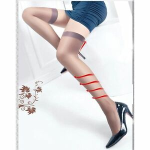 27abdcbc6 Women Girls Sexy Thigh-Highs Stockings Top Stay Up Nude Coffee Black ...