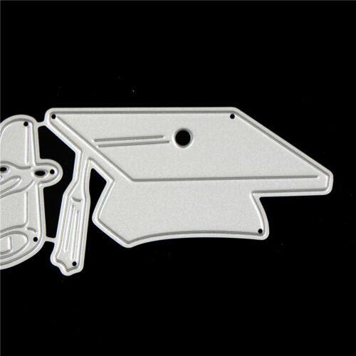 Doctor Cap Design Metal Cutting Dies For DIY Scrapbooking Album Paper Cards  I
