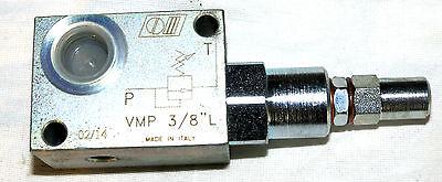 """Druckbegrenzungsventil G 3//8/"""" 40l//min  80-300 bar"""