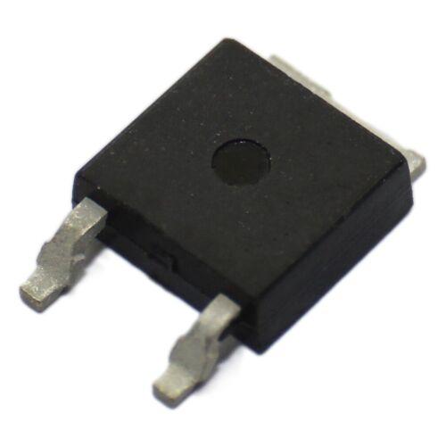 N-MOSFET unipolar 500V 3,5A 90W DPAK STMicroelectroni 2X STD6NK50ZT4 Transistor