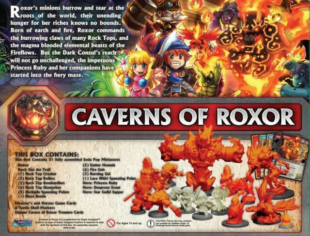 Caverns of Roxor 2nd Edition Super Dungeon Explore
