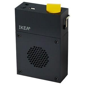 """Ikea x Teenage Engineering Frekvens Mini Bluetooth Speaker Black 2"""" x 4"""" NEW"""