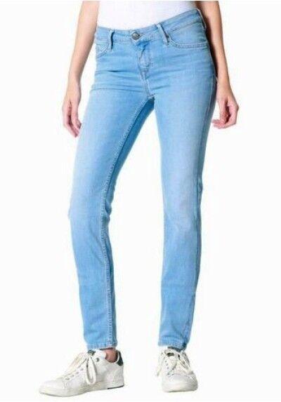 Mustang Jeans Jasmin Jeggins W27-w31 W27-w31 W27-w31 L30 Nuovo Blu Usato Pantaloni Donna 554b05