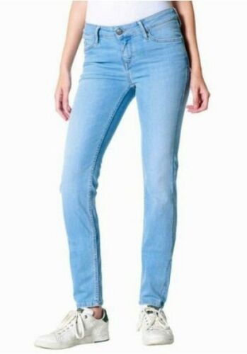 Mustang Jeans GELSOMINO Jeggins w27-w31 l30 NUOVO blu used Donna Pantaloni Stretch Denim