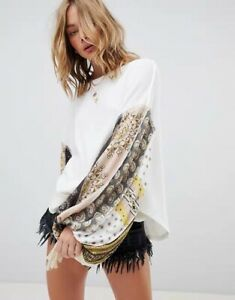 New-Free-People-Blossom-Thermal-Printed-Balloon-Sleeve-Ballet-combo-size-s-m-l