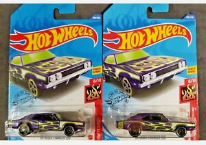 2020 Hot Wheels ~ /'69 Dodge Charger 500 ~ Lot of 3 ~ Free Shipping