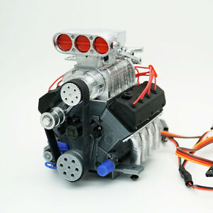 darkdragonwing 1 10 rc ohv v8 h rd engine painted. Black Bedroom Furniture Sets. Home Design Ideas