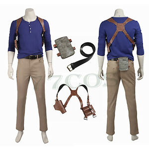 Uncharted 4 A Thief S End Nathan Drake Cosplay Costume Custom Made