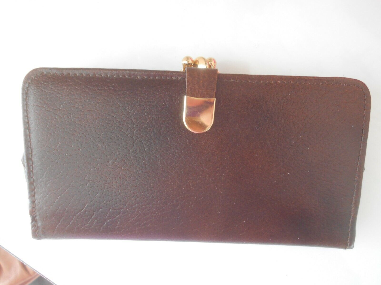 """""""TAURUS"""" LADIES VINTAGE REAL LEATHER PURSE WALLET – MADE IN ENGLAND - NEW!!!"""