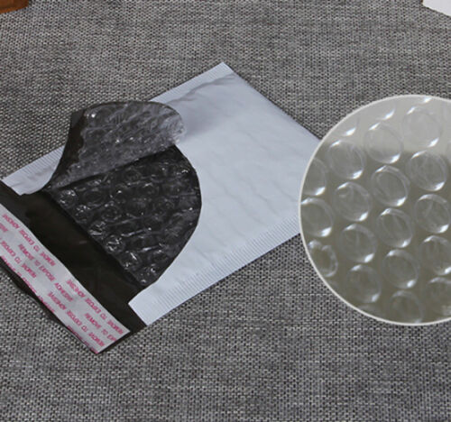 Wholesale 10Pcs Poly White Mailers Bubble Bag Shipping Envelopes Self Seal Hot