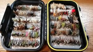 210 Preselected Trout Fly Assortment /& Fly Box